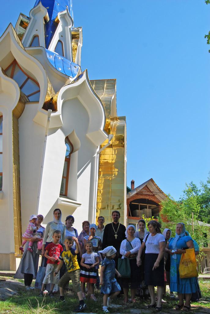 Троице-Георгиевский монастырь в Голицыно, 2013 г.