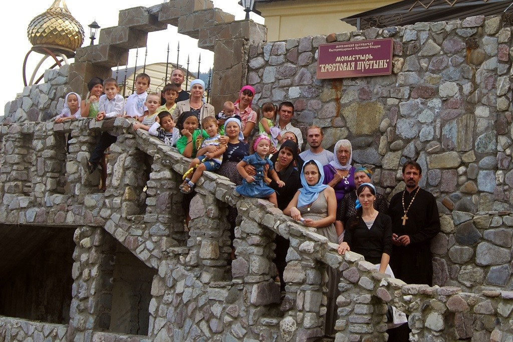 Поездка в монастырь Крестовая пустынь, 2011 г.