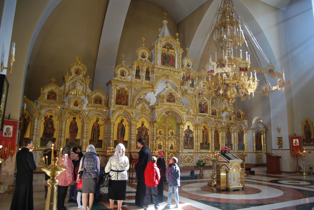 Экскурсия в храм равноапостольного князя Владимира, г. Сочи, 2014 г.