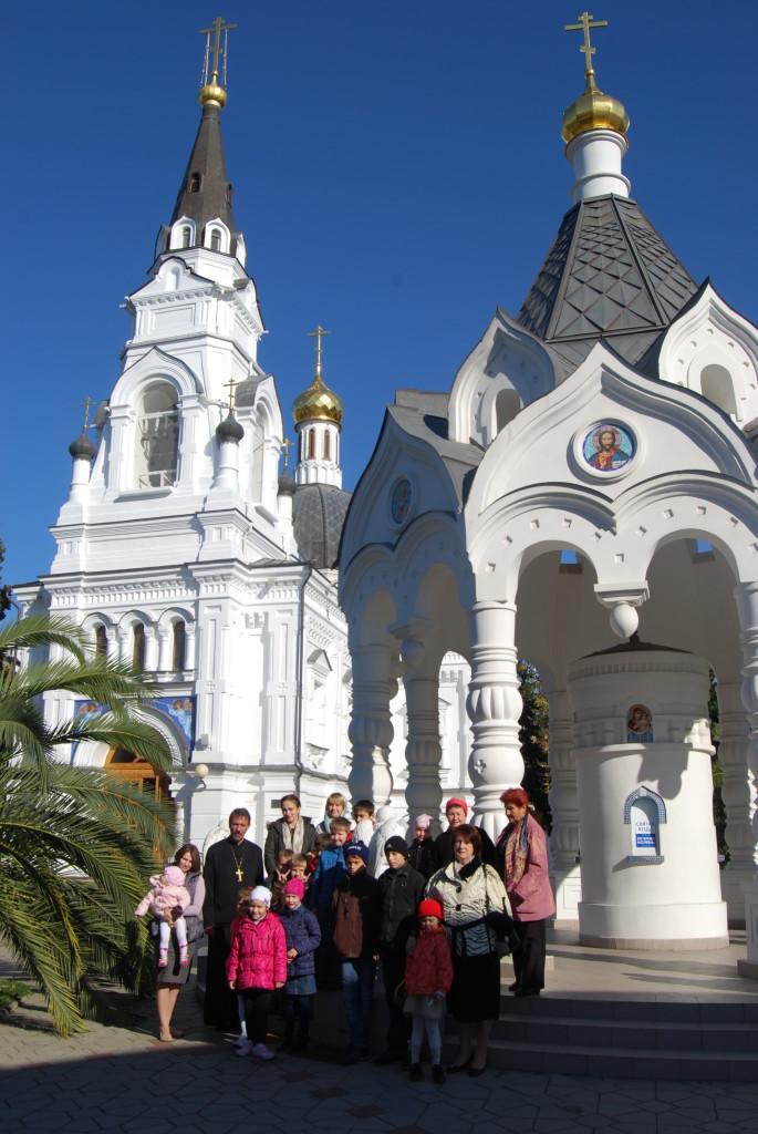 Экскурсия в собор Архангела Михаила г.Сочи, 2014 г.